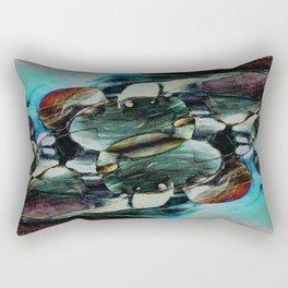 Red Rock Canyon Blues 2 Rectangular Pillow