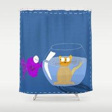 Rock 'n' Bowl Shower Curtain