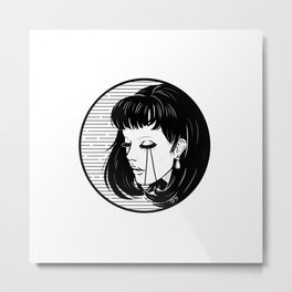 Not Alone Metal Print