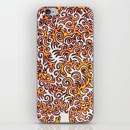 The Sqwiggle iPhone Skin