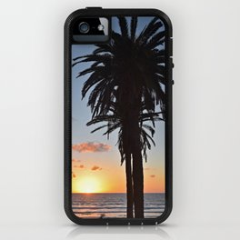 Southern California Sunset Palm Tree iPhone Case