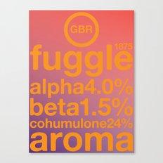 fuggle single hop Canvas Print