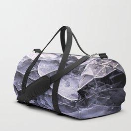 Cracked Ice Tiles In Lake Shore #decor #buyart #society6 Duffle Bag