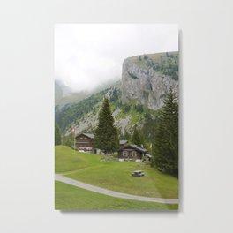 Beautiful Swiss Mountains - Landscape Of Switzerland Metal Print