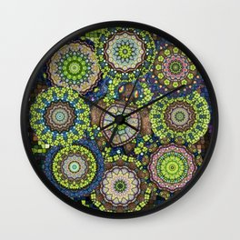 Lucky Me! Shamrocks and the Seas Turtle Wall Clock