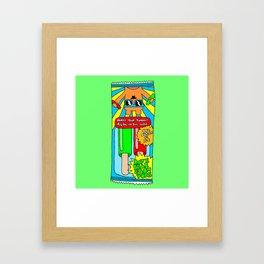 Popsicles Framed Art Print