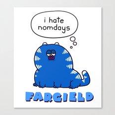 Fargield Canvas Print