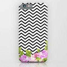FLORAL CHEVRON Slim Case iPhone 6