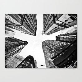 Subtle City Canvas Print