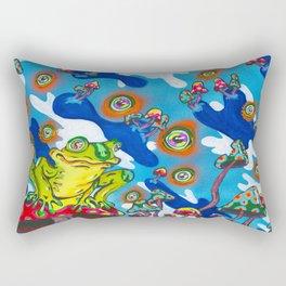 Eyes Of The Swamp Rectangular Pillow