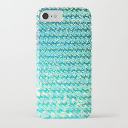 Mermaid Waves and Sea Foam, Sun Light over the Ocean iPhone Case