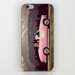 NEVER STOP EXPLORING VII iPhone Skin