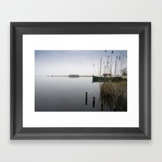 The silence of the Lake Framed Art Print