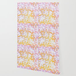 camouflage texture in yellow Wallpaper