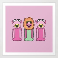 muppets Art Prints featuring Mahna Manha – The Muppets by Big Purple Glasses