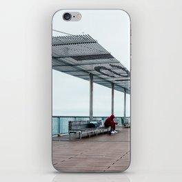 Coney Island Pier: Red Matter iPhone Skin