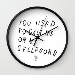 HOTLINE Wall Clock