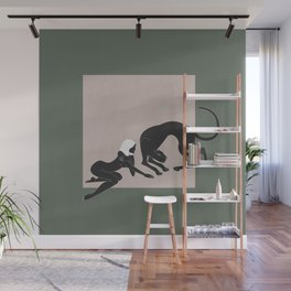 Panther Woman Wall Mural