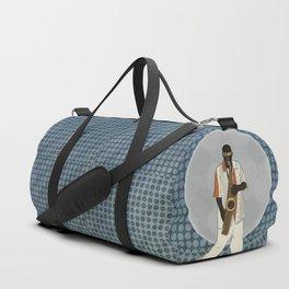 Saxophone Musician Duffle Bag