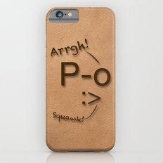Pirates Have Emoticons, Too Slim Case iPhone 6s