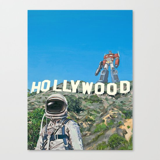 Hollywood Prime Canvas Print