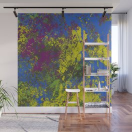Clouded Judgement - Abstract Modern Painting Wall Mural
