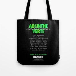 ABSINTHE VERTE Tote Bag