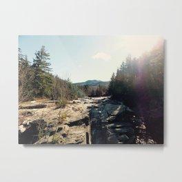 North Conway Sun Metal Print
