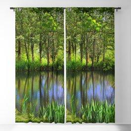 Spring views Blackout Curtain