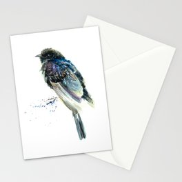 Black Cuckoo Stationery Cards