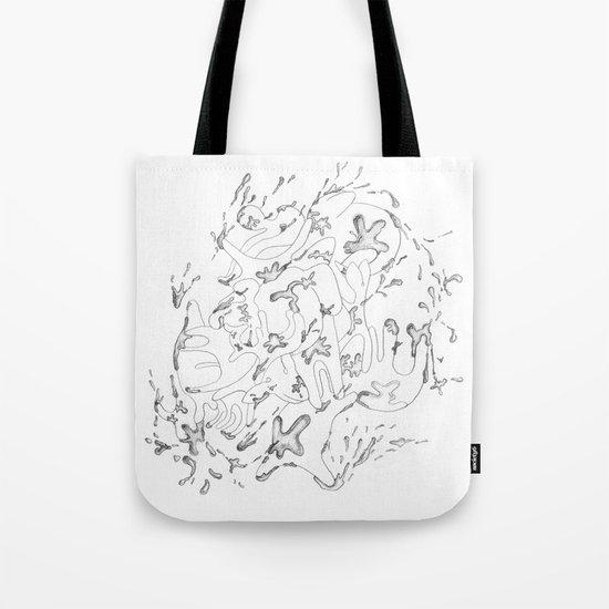 Liquid Animals Tote Bag