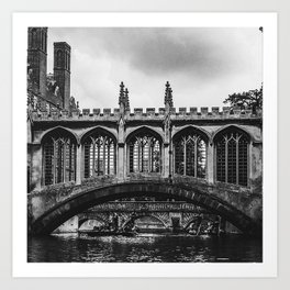The Bridge of Sighs Art Print