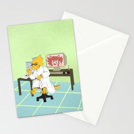 Alphys Stationery Cards