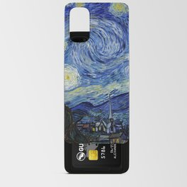 Starry Night by Vincent Van Gogh Android Card Case