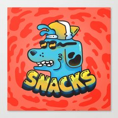 Snacks Dawg Canvas Print