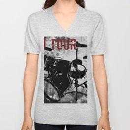 Rock 'n Roll Drums Unisex V-Neck