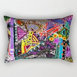 Perpetually Foreign (Kuwait/Seattle/C-Bus) Rectangular Pillow