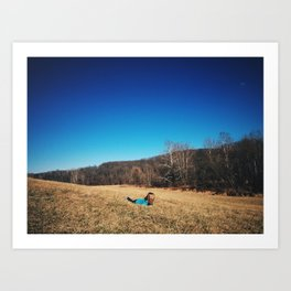 Young, Wild, and Free Art Print