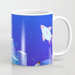 Modern City Draw Coffee Mug