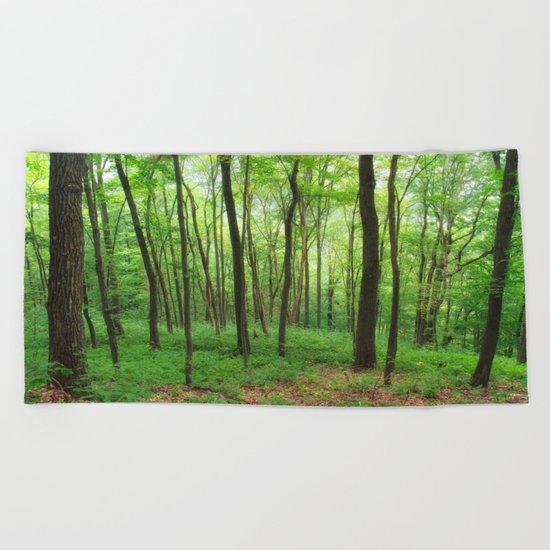 Forest 3 Beach Towel