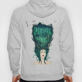 Rococo: My lady of the wilderness Hoody