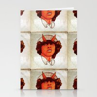acdc Stationery Cards featuring ACDC   Highway to Hell by K▽nchʁLϟ