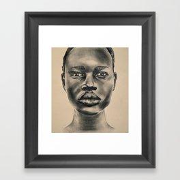 Senegalese Woman Framed Art Print