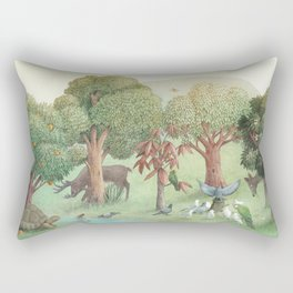 Sweet Tree Island Rectangular Pillow