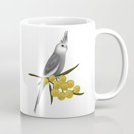 White Faced Cockatiel Coffee Mug