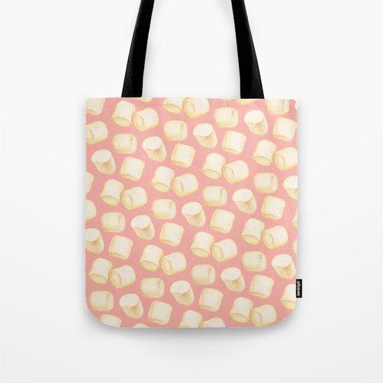 Marshmallow Pattern - Pink Tote Bag