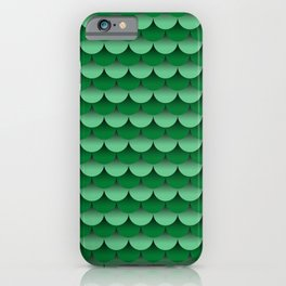 Scales Fade Pattern (Mermaid, Dragon, Fish) iPhone Case