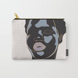 Black lady of liberty Carry-All Pouch
