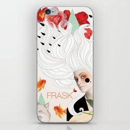 FRASK Collage iPhone Skin