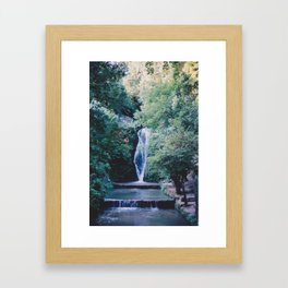 Queen Bath Framed Art Print